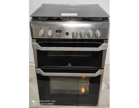 Indesit ID 60 G2(X)-f502 Газовая плита с газовой духовкой 60*60 б/у Гарантия 6 мес