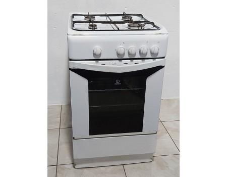 INDESIT-bn-f817 Газовая плита с газовой духовкой 50*60 б/у Гарантия 6 мес