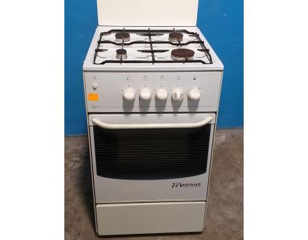 MASTERCOOK bn-f463 Газовая плита с газовой духовкой 50*60 б/у Гарантия 6 мес