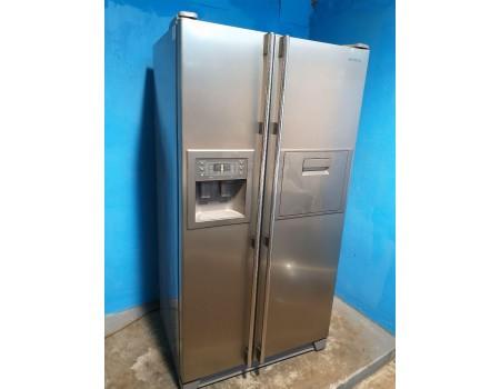 SAMSUNG RS21KGRS-d294 Холодильник Side-by-Side Полный No Frost 177*91 520L б/у Гарантия 6 мес