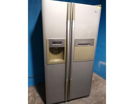 LG GR-P207-TLQ-d158 Холодильник SIDE BY SIDE ПОЛНЫЙ NO FROST 175*89 521L б/у