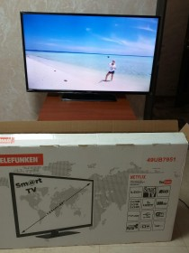 TELEFUNKEN SMART TV 49-UB7951 Телевизор Ultra HD
